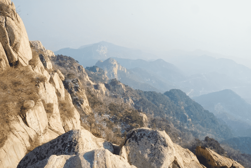 taishan mountain china - mount tai china pictures