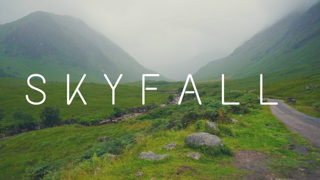 James Bond Skyfall Scotland Filming Locations