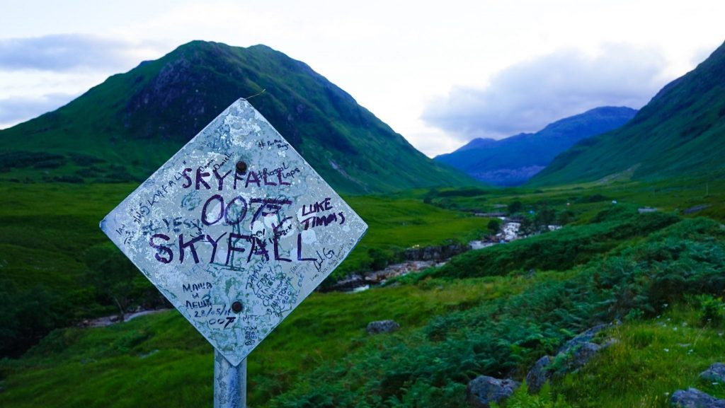 How To Find The James Bond Skyfall Location in Scotland! 🍸