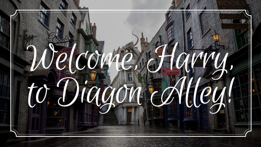 Welcome, Harry – to Diagon Alley (Wizarding World Review Part 2)!