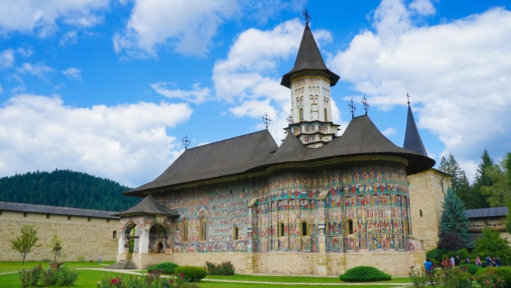 Colourful Churches of Moldavia UNESCO Site in Romania
