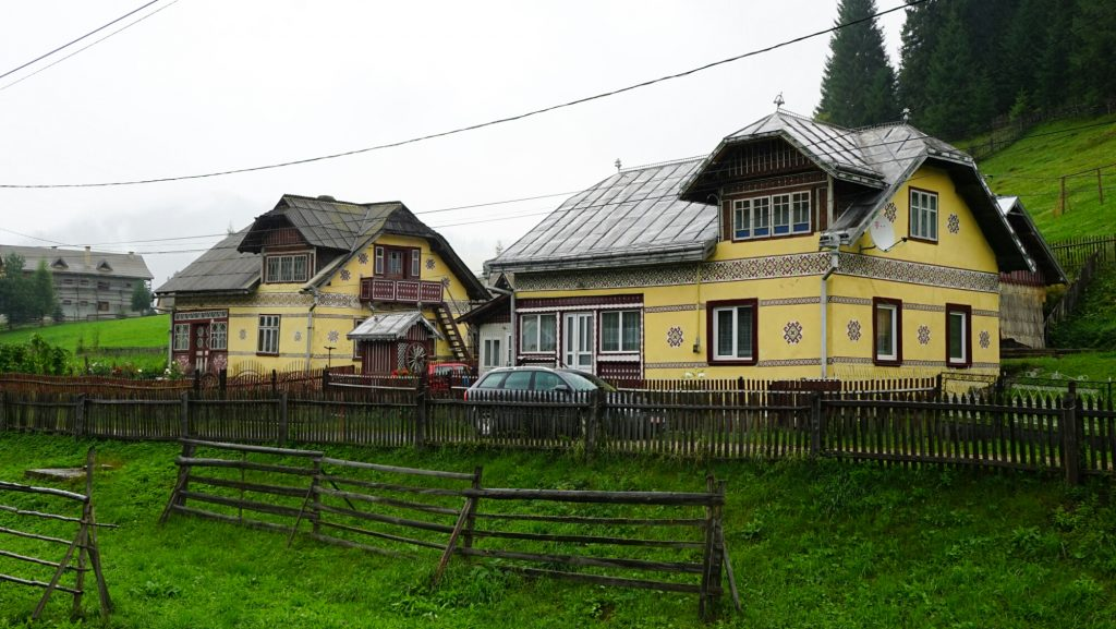 Ciocănești Painted House in Romania