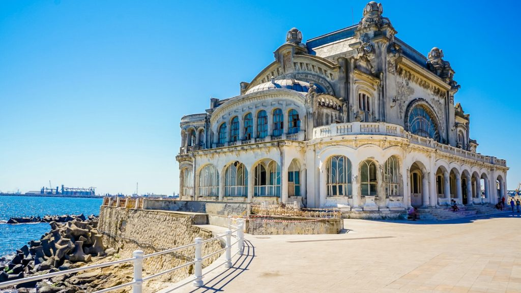 Constanta Casino Romania Travel Sights