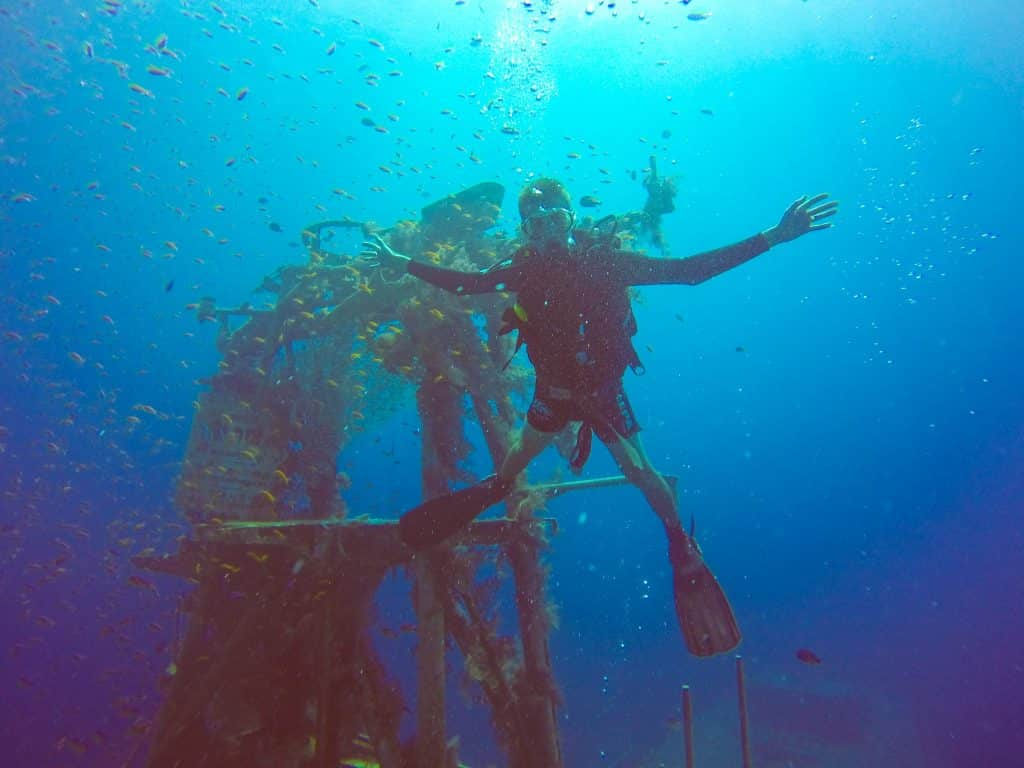 Scuba Diving in Eilat