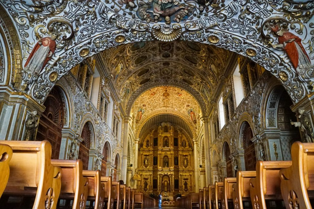 oaxaca city travel guide - santo domingo church