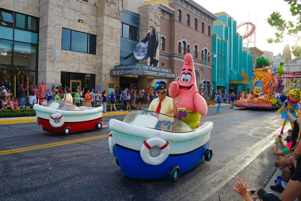 universal studios florida parade