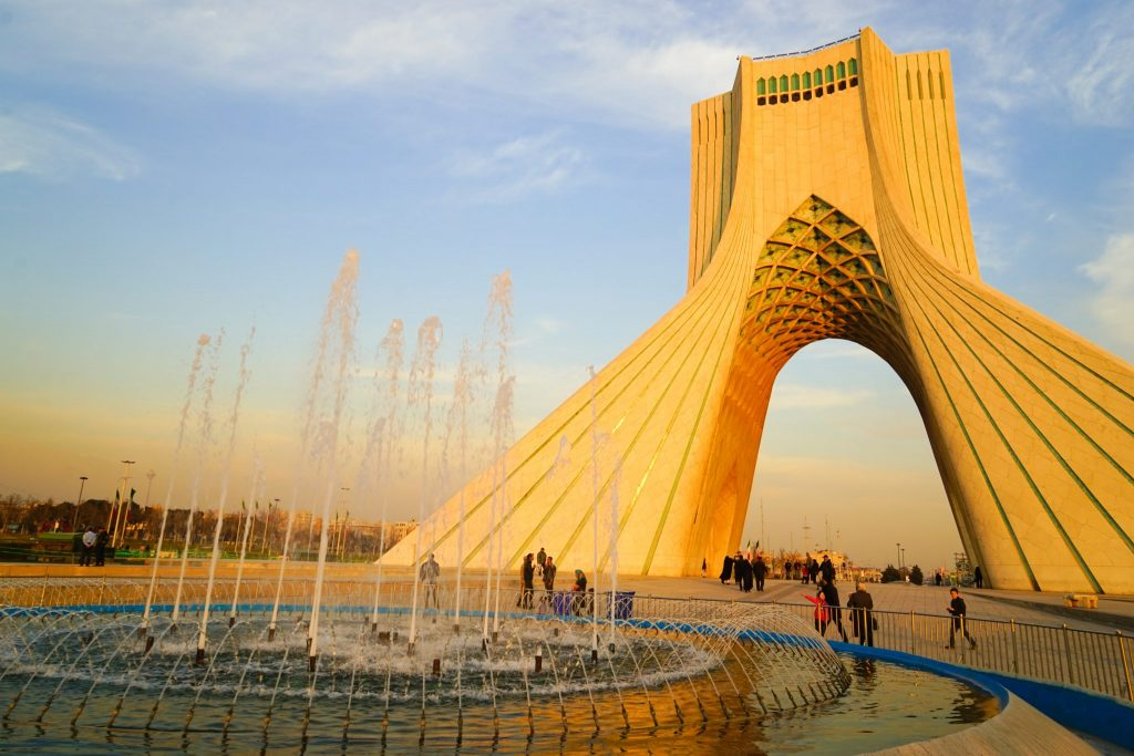 Azadi Tower places to visit in tehran