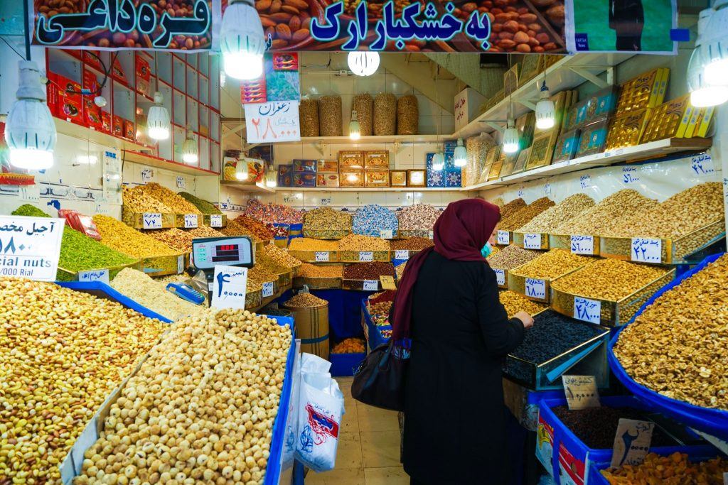 Tehran Spice Market / places to see in tehran