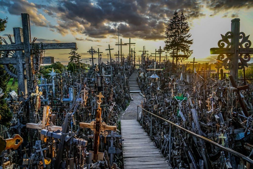 The Transcendant Hill of Crosses| visit riga day trips