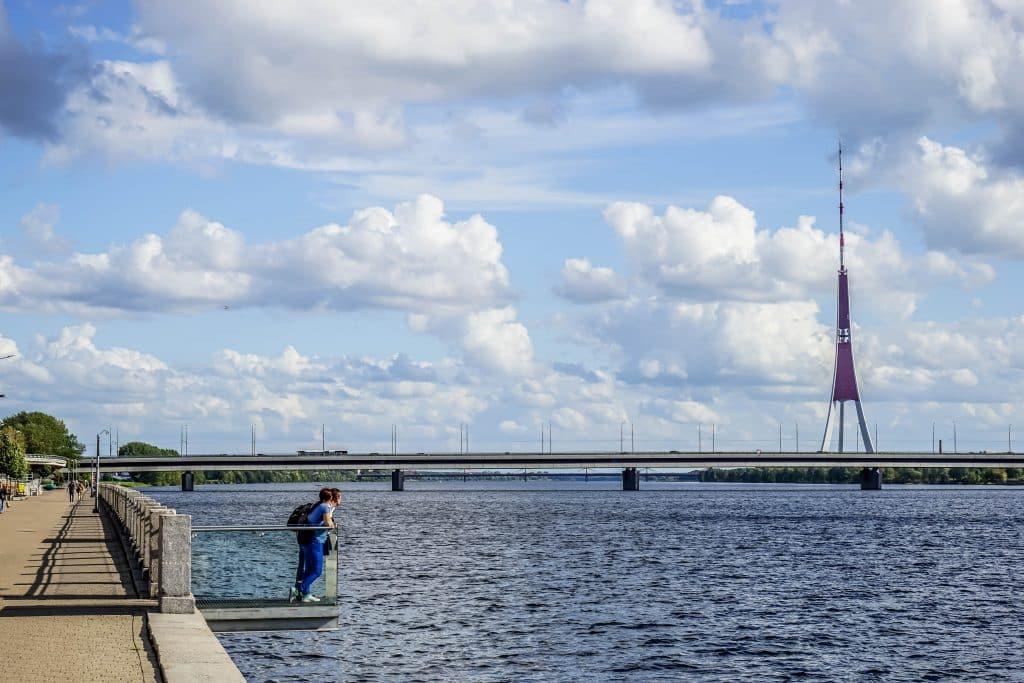 The Riga Radio and TV Tower| visit riga