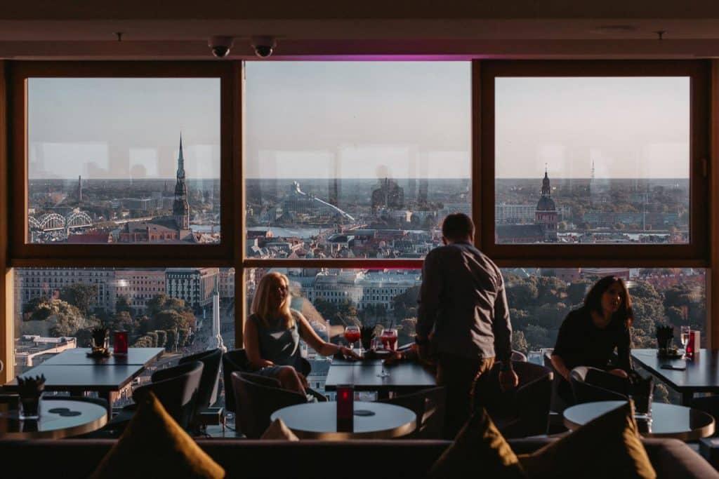 Riga Rooftop Bar | Radisson Blu Latvija Conference & Spa Hotel, Riga