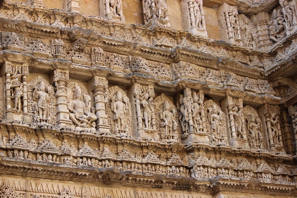 Rani-ki-Vav (the Queen's Stepwell) at Patan, Gujarat UNESCO World Heritage Site In India
