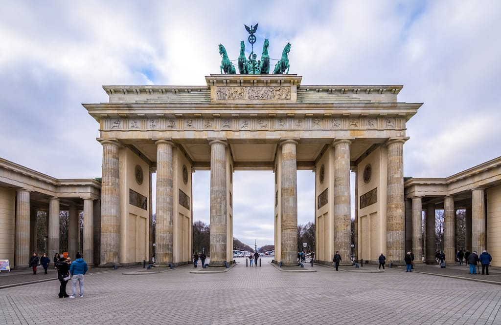 Famous Landmarks in Germany - Brandenburg Gate