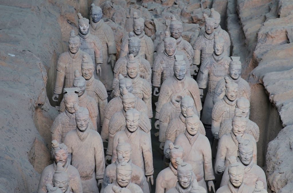 The Terracotta Army In Xi'an - Famous Places In China