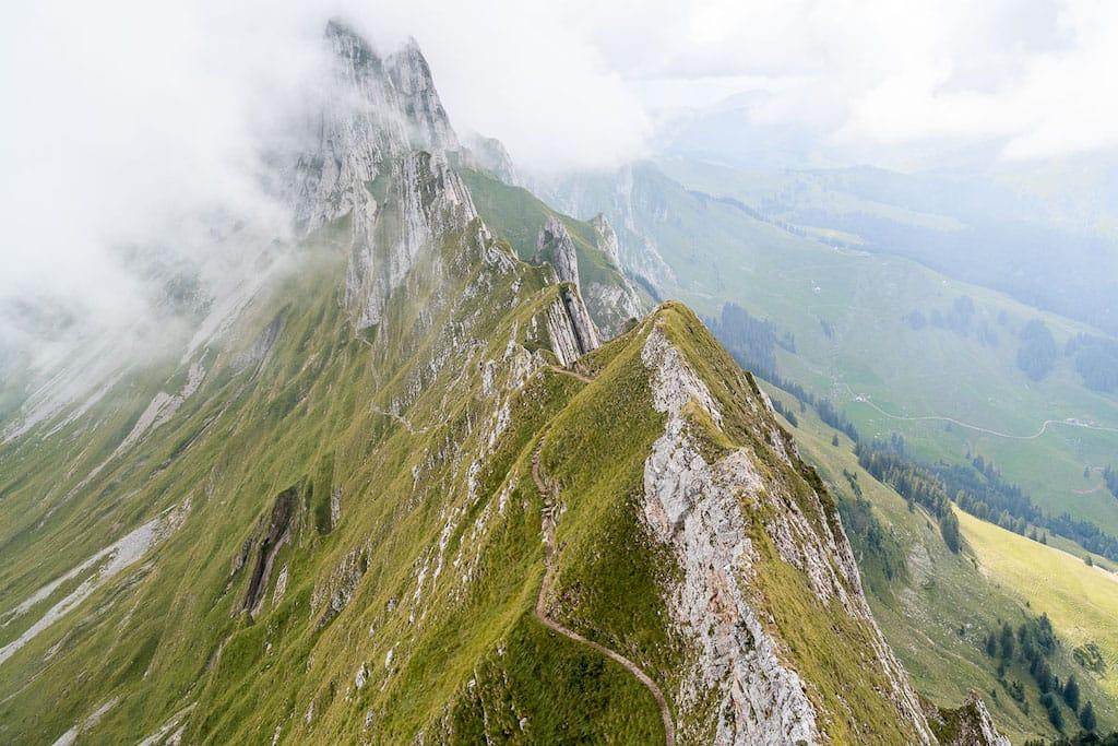 Famous Swiss Landmarks - Schäfler Ridge