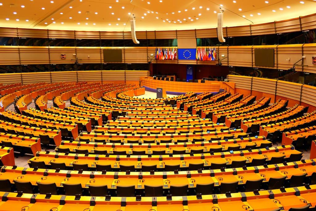 iconic landmarks in belgium - Espace Léopold : European Parliament Building